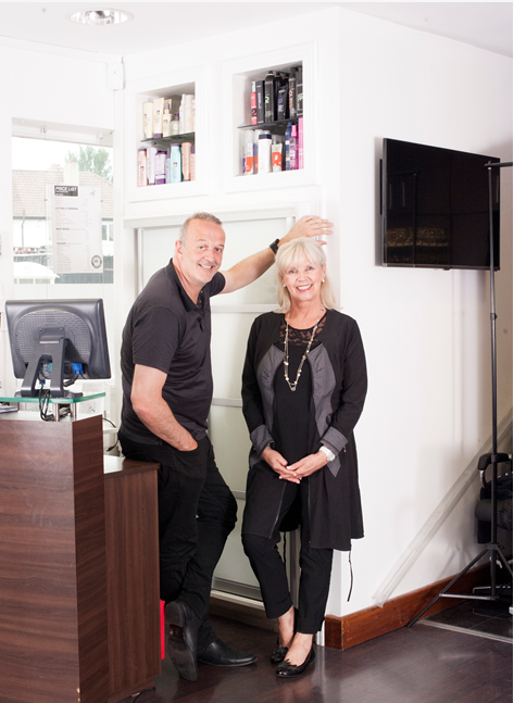 Vyvienne and Joe Bell, best hair stylists